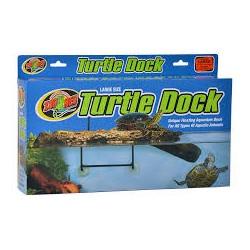 Île flottante pour tortues...