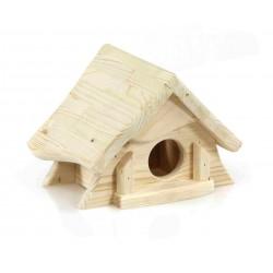 Maison en bois naturel...