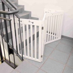 Barrière pour chien en 4...