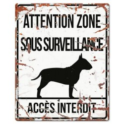 Plaque de garde : Bull Terrier