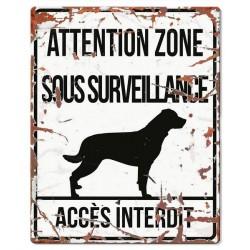 Plaque de garde : Rottweiler