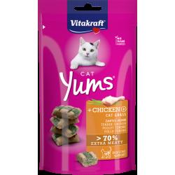 Cat Yums - Poulet, Herbe à...