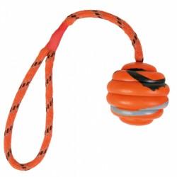 Balle ondulée sur corde...