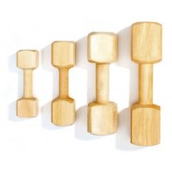 Haltère de rapport en bois