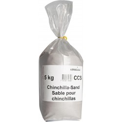 Sable de bain pour chinchillas