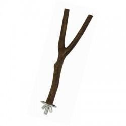Perchoir en bois en Y