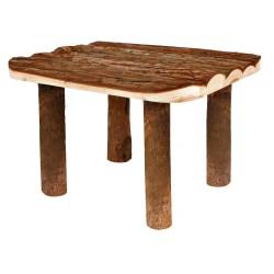 Auvent en bois