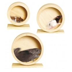 Roue en bois naturel -...
