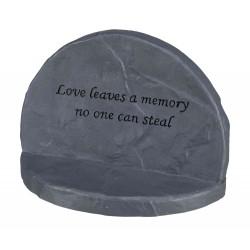 """Pierre commémorative """"Love"""""""